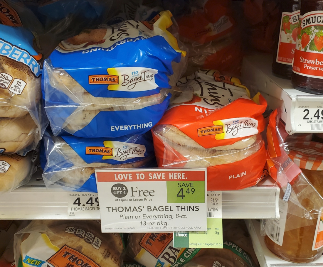 Thomas Bagel Thins As Low As $1.50 At Publix on I Heart Publix 1