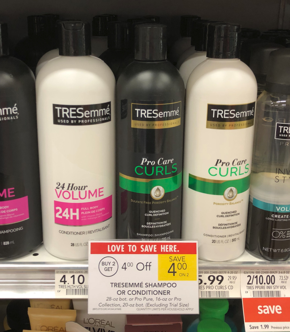 TRESemme Pro Collection As Low As $1.49 At Publix on I Heart Publix