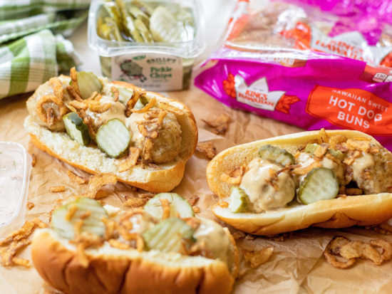 Chicken Meatball Subs With Alabama White Sauce on I Heart Publix 1