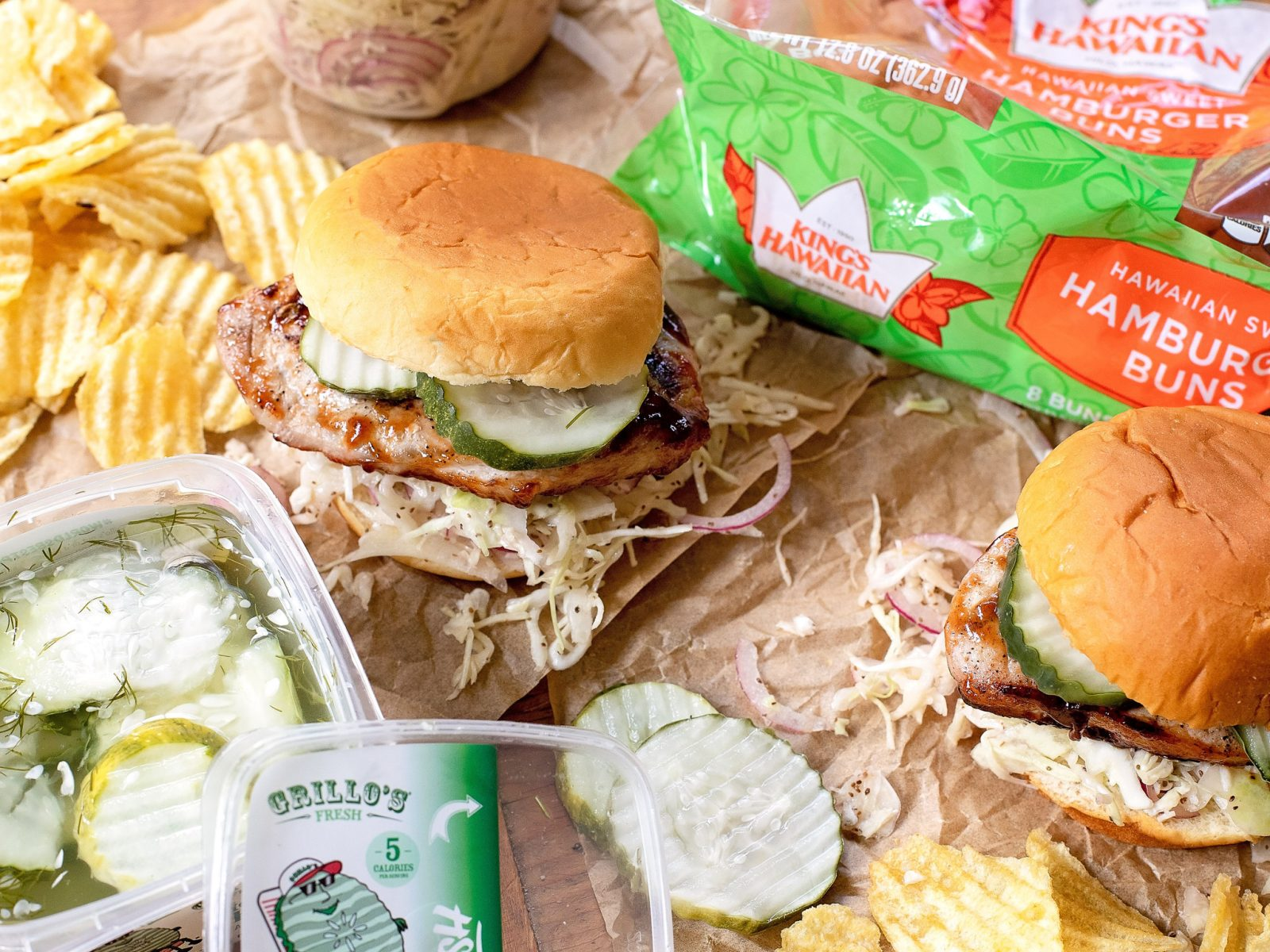 Barbecue Pork Chop Sandwiches Are Your Quick & Easy Labor Day Meal That Everyone Will Love! on I Heart Publix 1