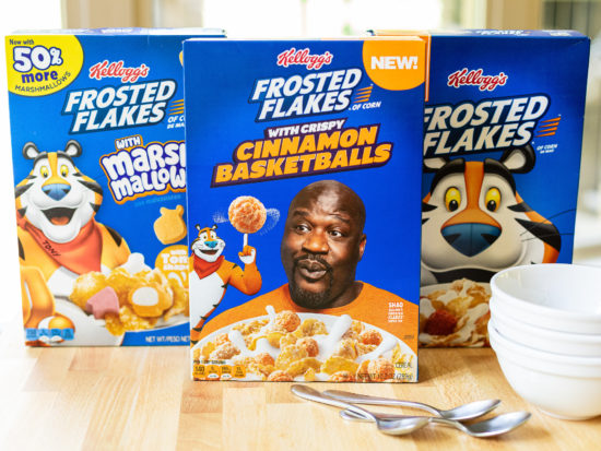 Kellogg's Frosted Flakes Are BOGO At Publix + Each Box Is Worth A $2 Donation To Mission Tiger! on I Heart Publix