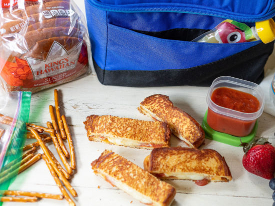Shake Up The Lunch Box With A Pizza Melt Sandwich + Share A Post And Help Feed Kids on I Heart Publix 2