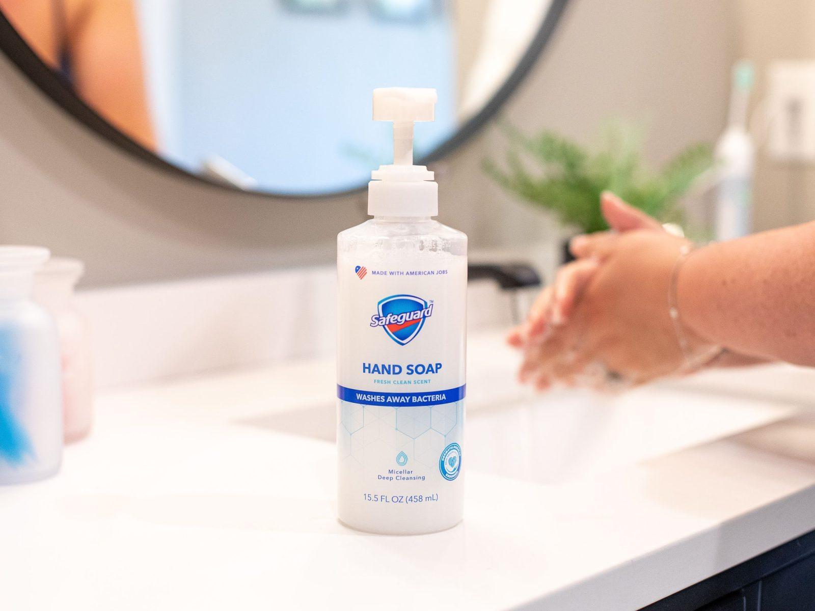 Safeguard Liquid Hand Soap Just 33¢ At Publix on I Heart Publix