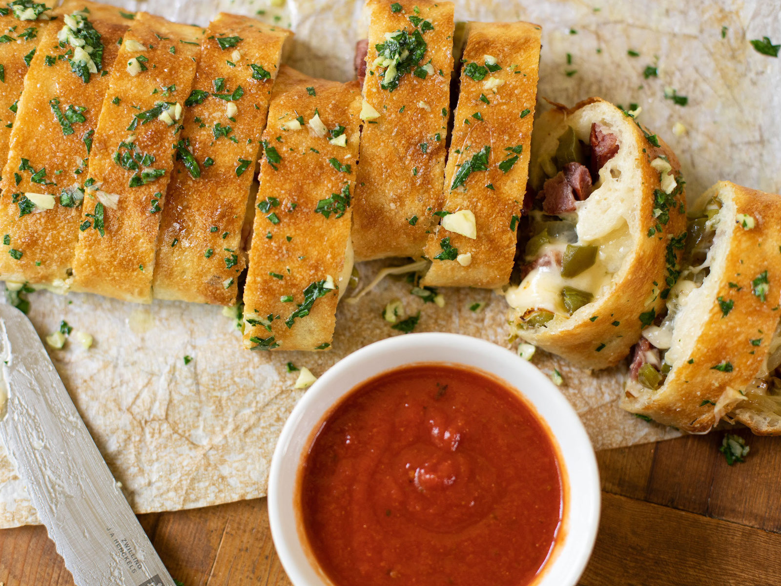 Pick Up Some Amish Country Cheese For My Delicious Sausage Stuffed Pizza Bread on I Heart Publix 2
