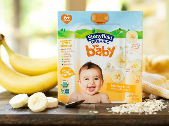 Stonyfield YoBaby Yogurt Pouches 4pk - Just 15¢ At Publix on I Heart Publix