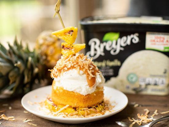 Breyers Tropical Shortcake Sundae Draft on I Heart Publix