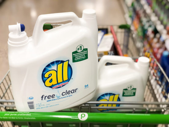 All Laundry Detergent As Low As $6.24 At Publix on I Heart Publix