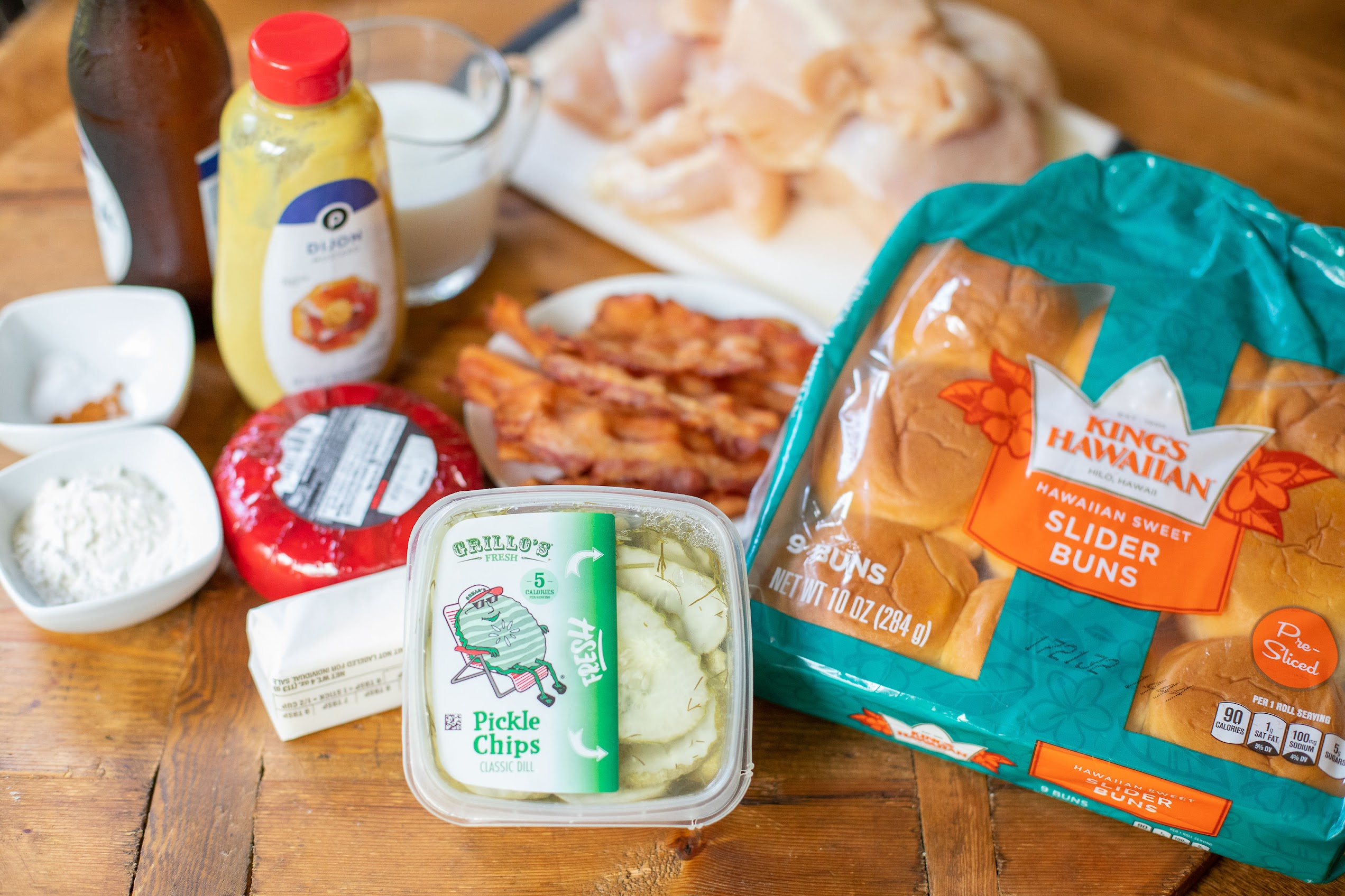 Add These Beer Cheese & Bacon Topped Chicken Sliders To Your Labor Day Menu on I Heart Publix