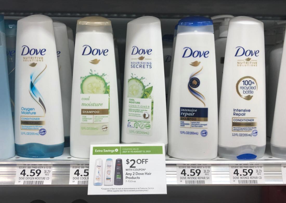 Dove Shampoo or Conditioner Just $2.50 Per Bottle At Publix on I Heart Publix