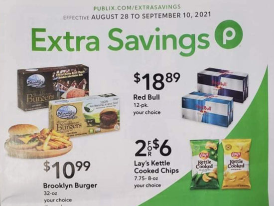 Publix Extra Savings Flyer Valid 8/28 to 9/10 on I Heart Publix