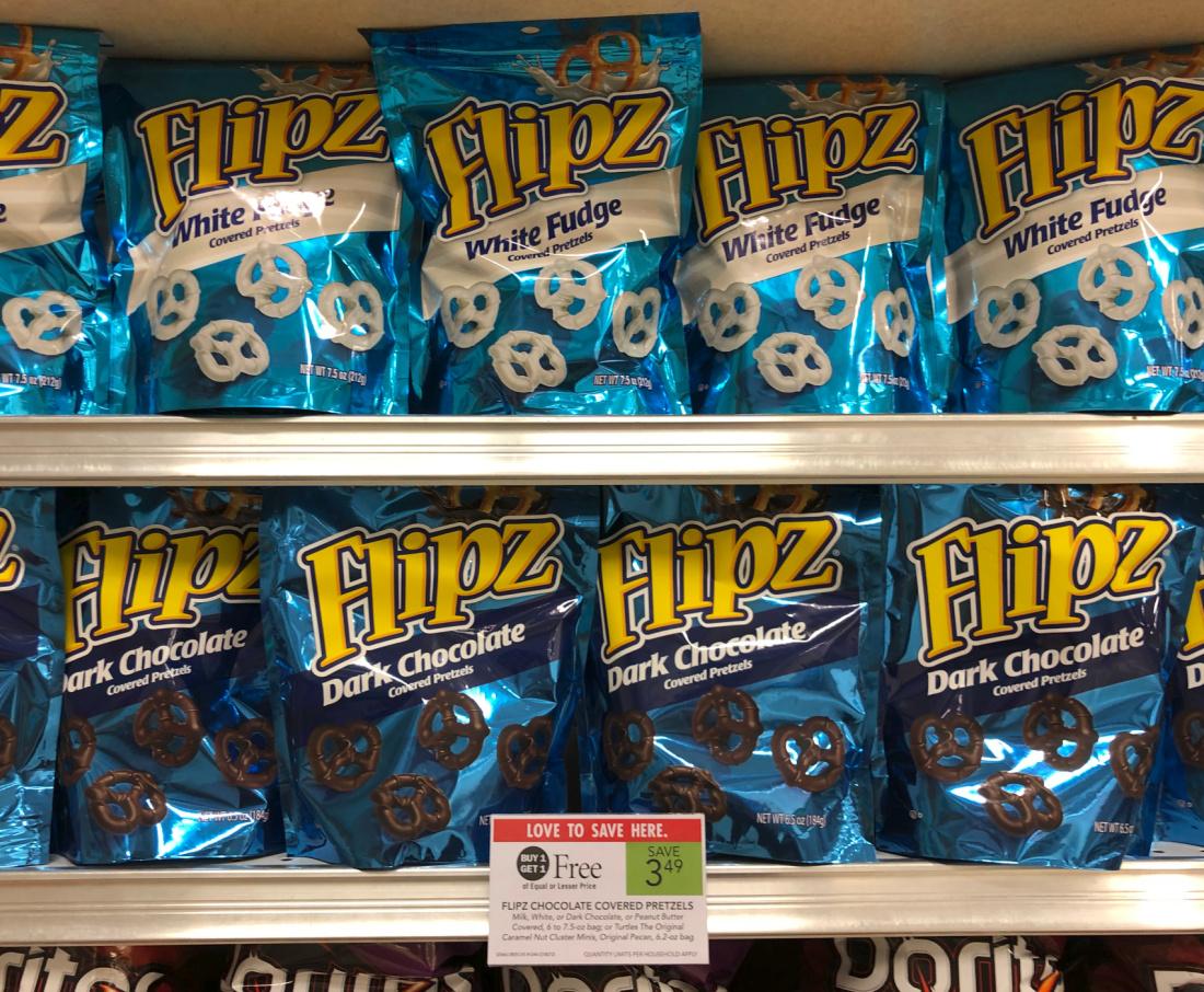 Flipz Chocolate Covered Pretzels Just $1 At Publix on I Heart Publix 2