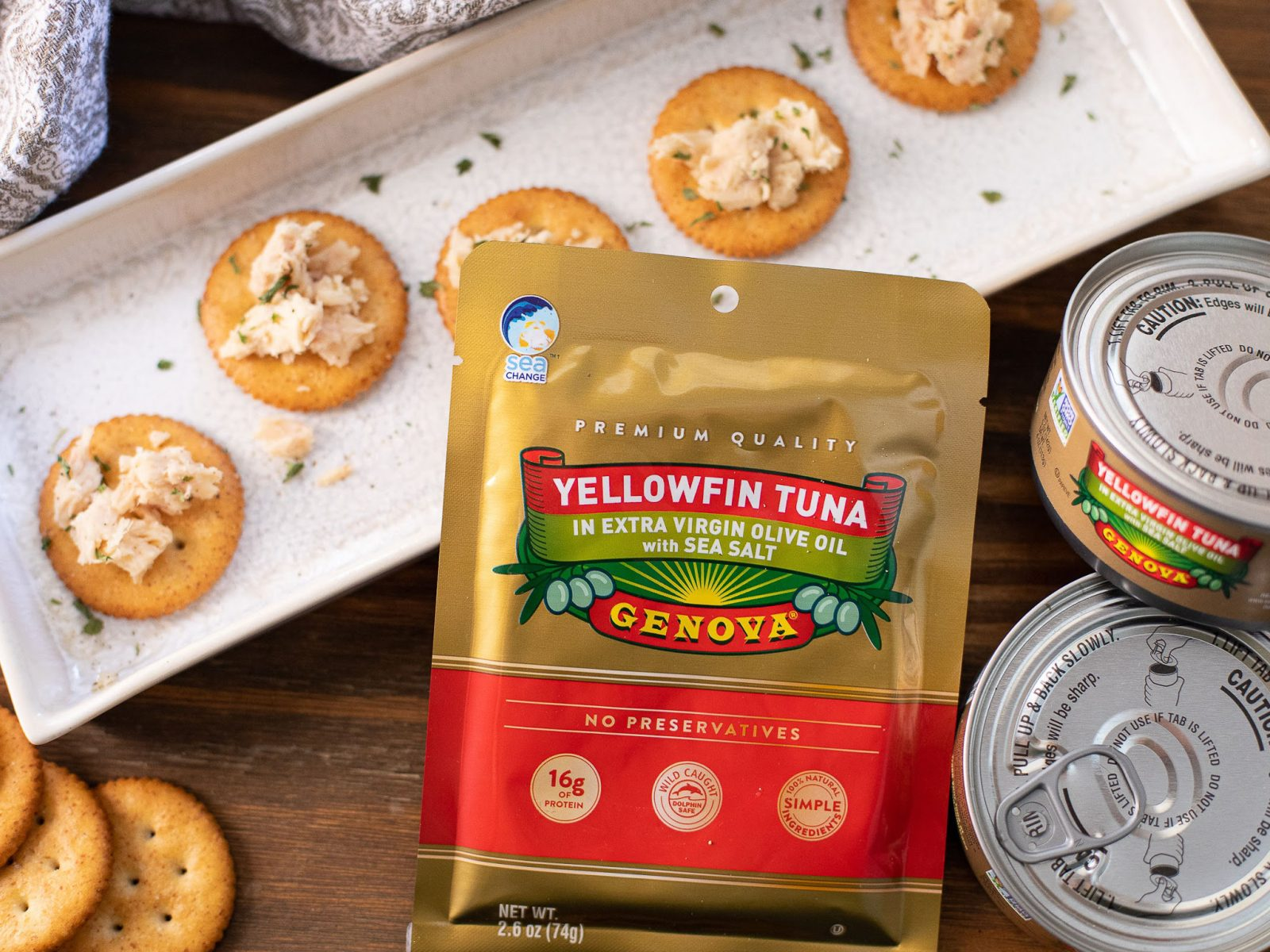 Genova Albacore or Yellowfin Tuna As Low As 94¢ At Publix on I Heart Publix