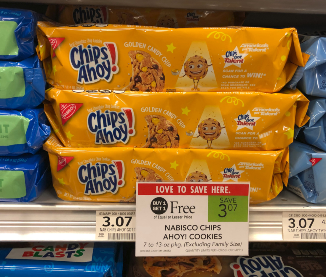 Nabisco Chips Ahoy! Golden Candy Chip Cookies Are FREE At Publix on I Heart Publix