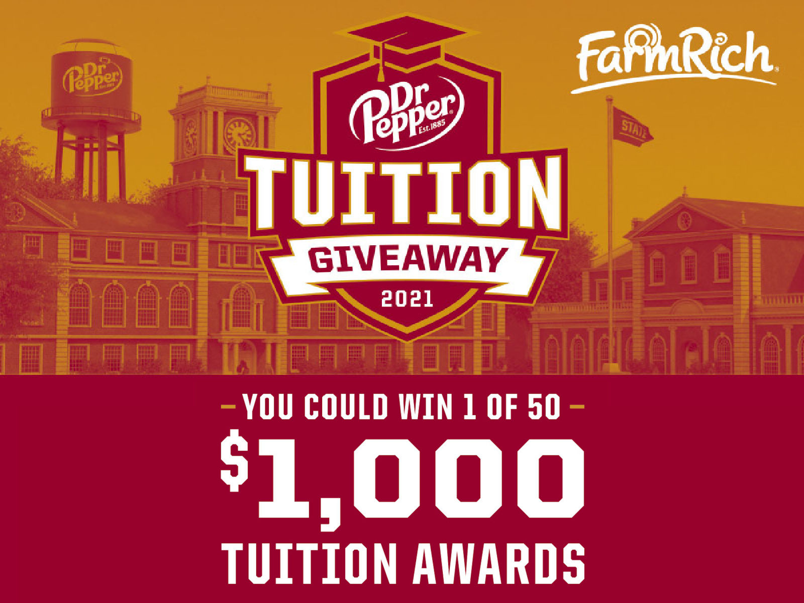 Dr. Pepper Tuition Sweepstakes - Text To Win A $1000 College Tuition Scholarship on I Heart Publix 3