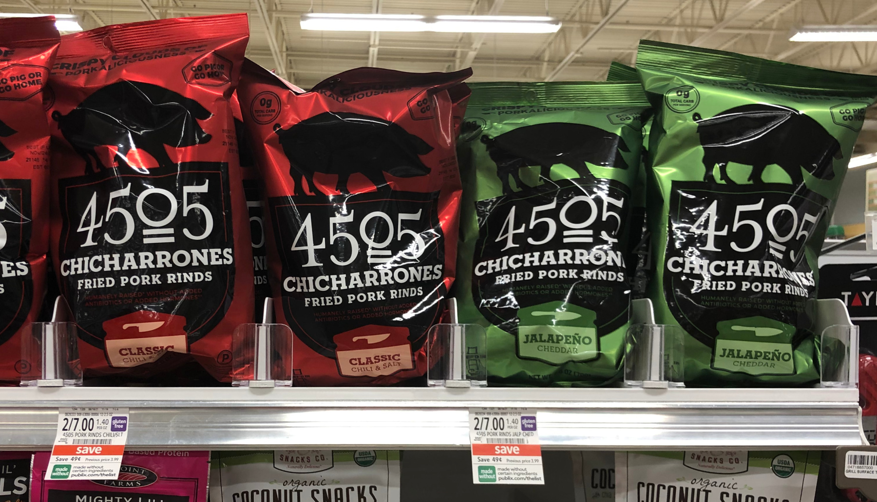 4505 Chicharrones Are Now Available At Publix - Three Winners Get A $50 Publix Gift Card & Lots Of FREE 4505 Chicharrones! on I Heart Publix 1