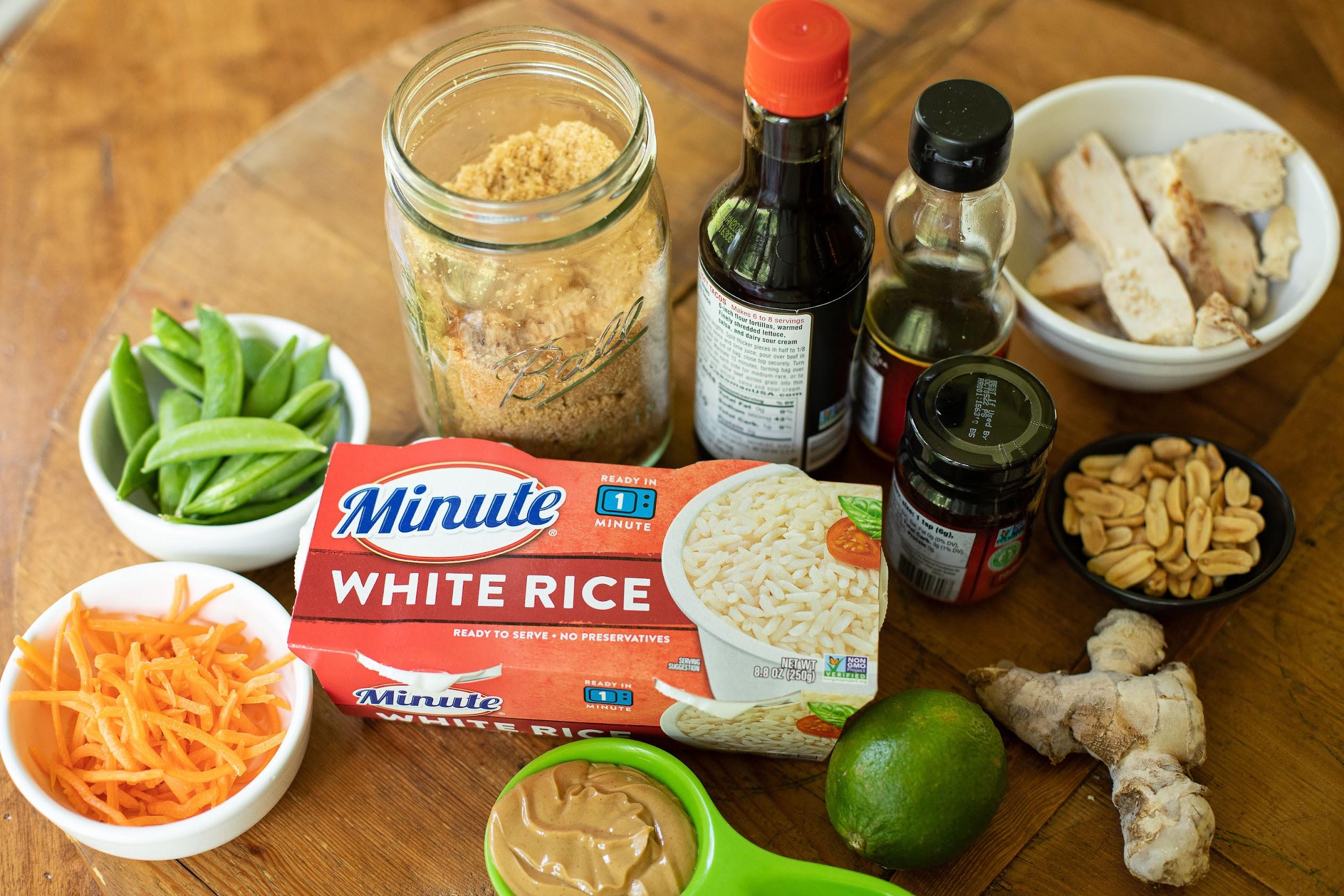 Spicy Peanut Chicken & Rice on I Heart Publix