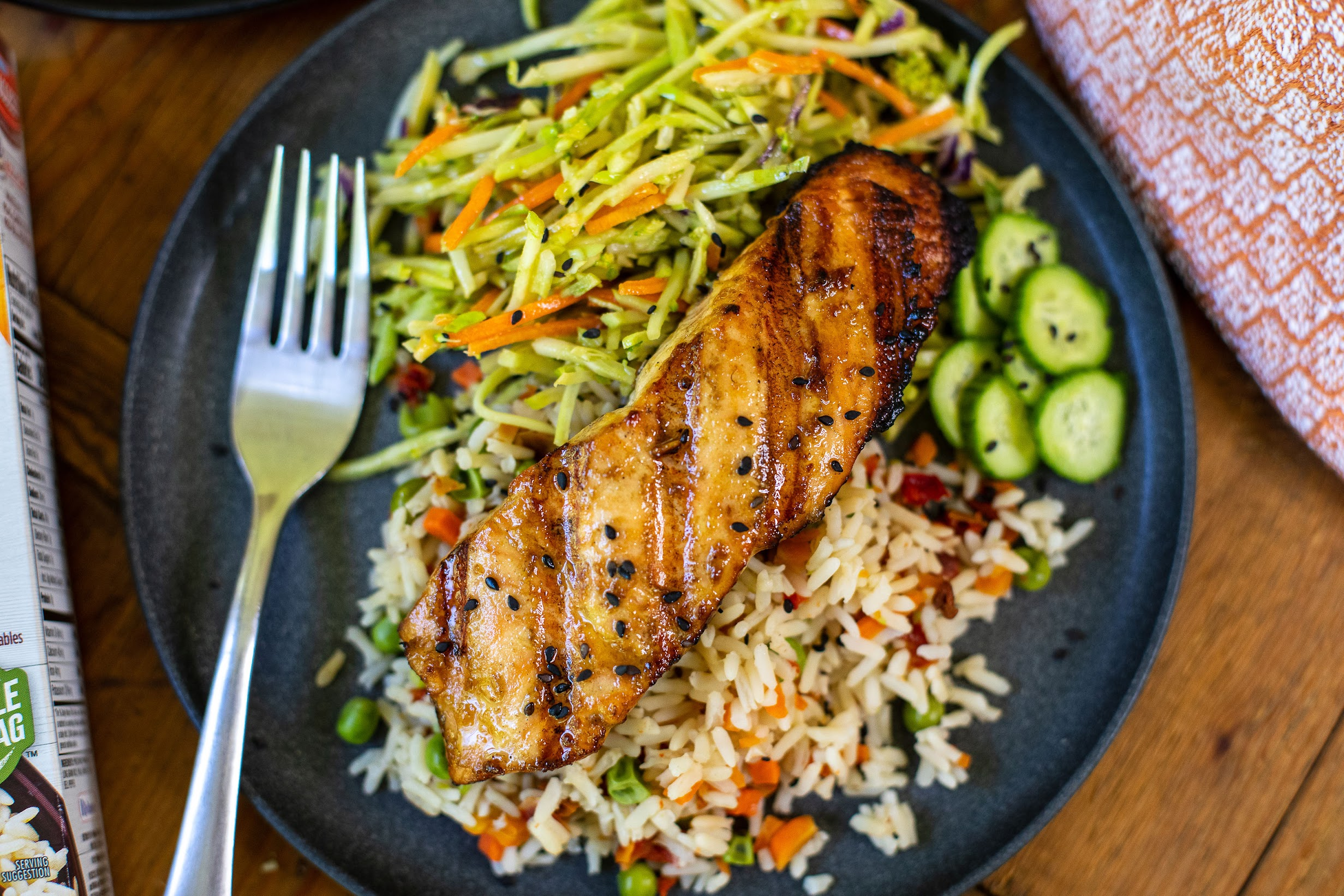 Garden & Grains Asian Salmon Draft on I Heart Publix 1
