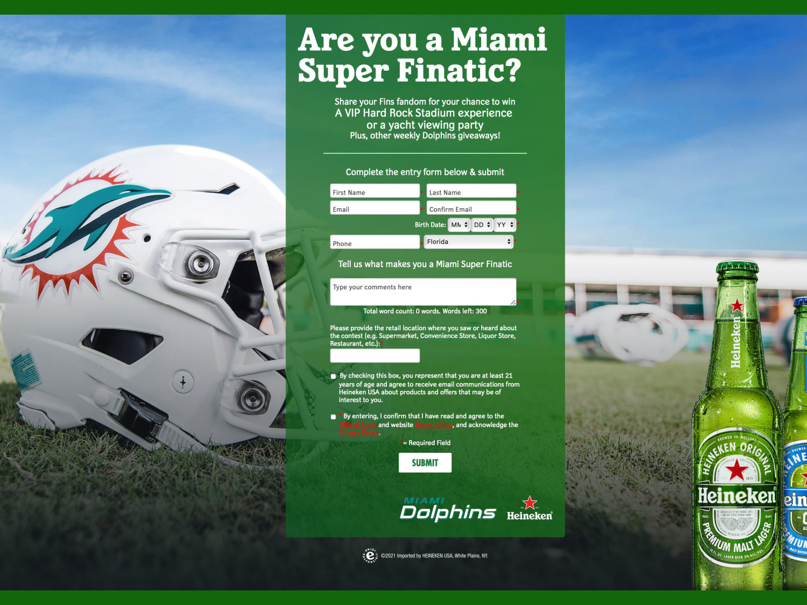 Are you a FINatic? Enter To Win VIP Tickets To See The Fins (Florida Residents Only) on I Heart Publix