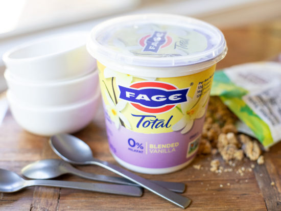Fage Total 0% Blended Vanilla Yogurt BIG Tubs Just $1.50 At Publix - Today Only on I Heart Publix