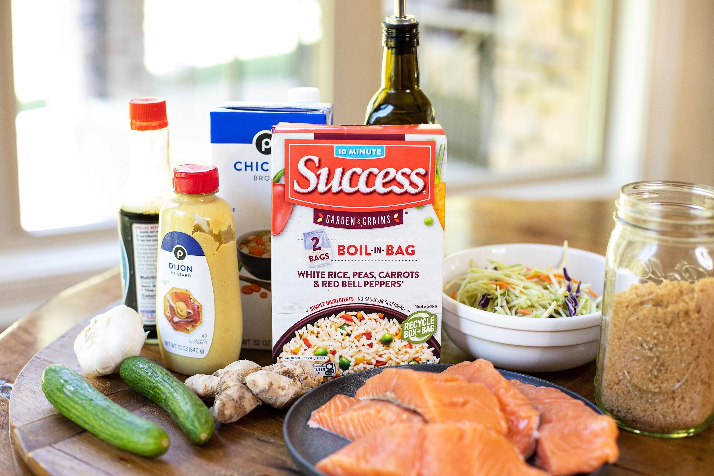 Garden & Grains Asian Salmon Draft on I Heart Publix 2