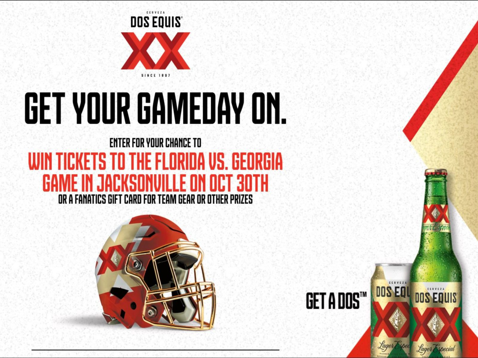 Dos Equis® Big Game Southeast Sweepstakes - Enter To Win A Trip To The Big Game In Miami on I Heart Publix