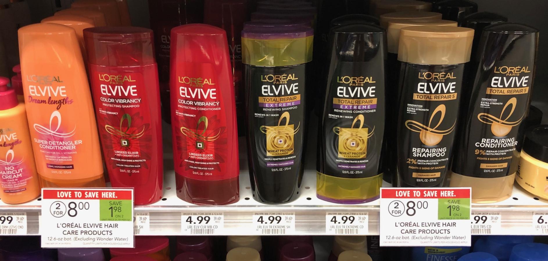 L'Oreal Elvive Haircare Just $2.50 Per Bottle At Publix on I Heart Publix