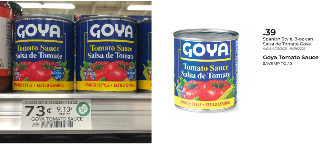 Goya Spanish Style Tomato Sauce As Low As 24¢ At Publix on I Heart Publix