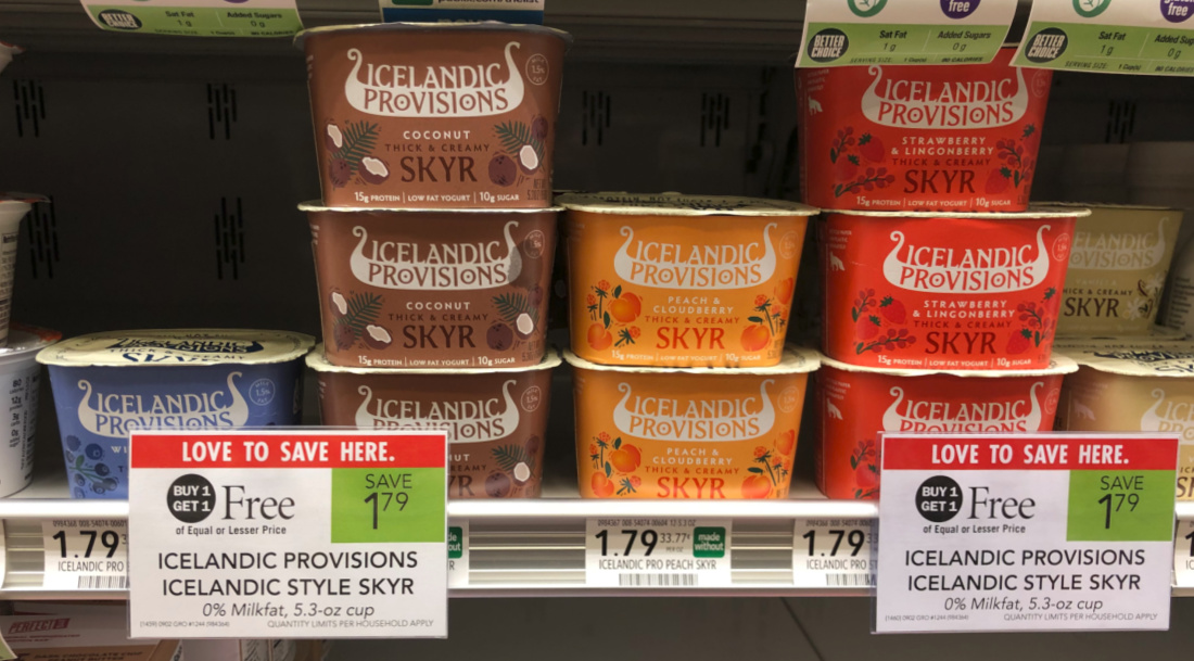Icelandic Provisions Icelandic Style Skyr Just 40¢ At Publix on I Heart Publix 1