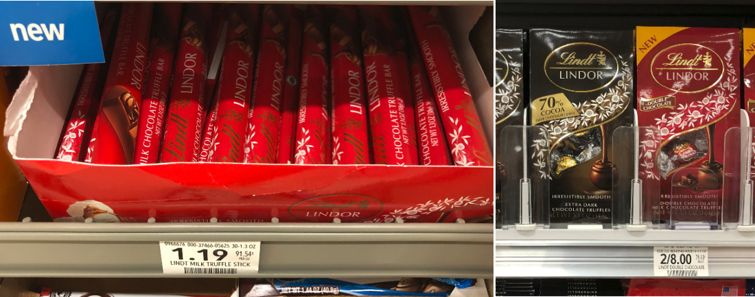 New Lindt Lindor Chocolate Coupons - Truffle Stick Just 94¢ At Publix on I Heart Publix
