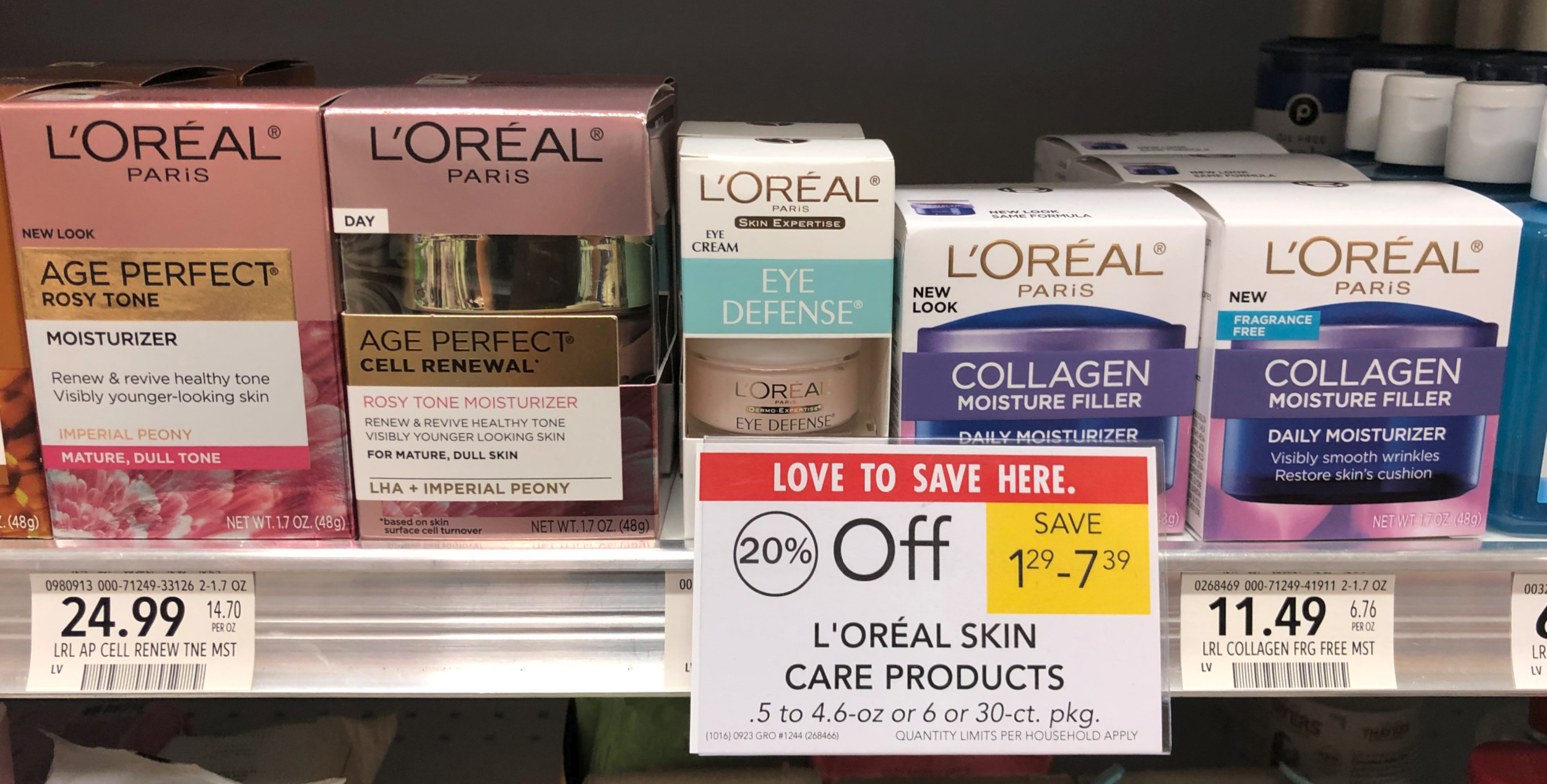 New L'Oreal Skincare Coupon Means Nice Deals At Publix on I Heart Publix 1