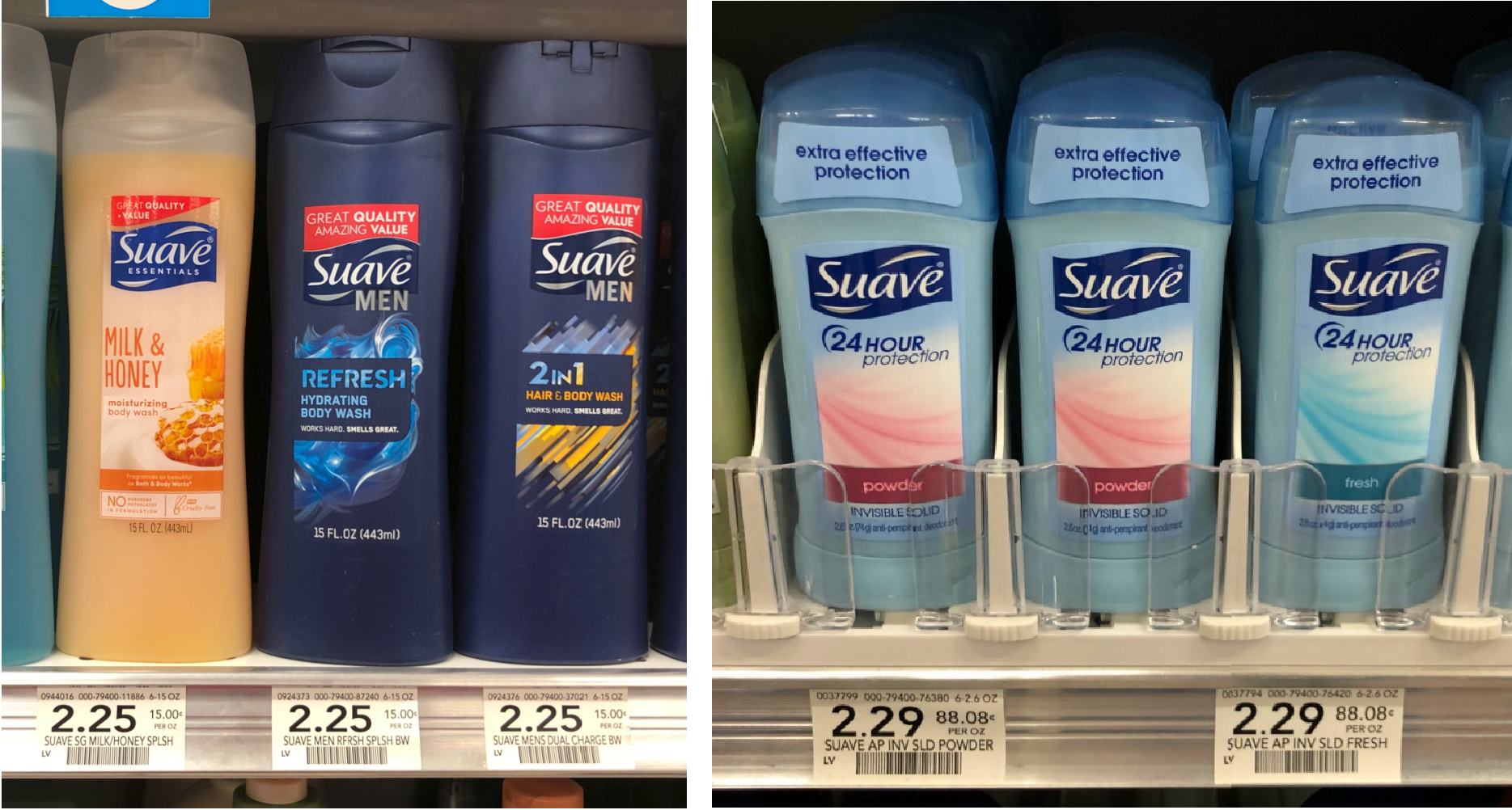 Get Suave Body Wash For Just $1.25 At Publix on I Heart Publix