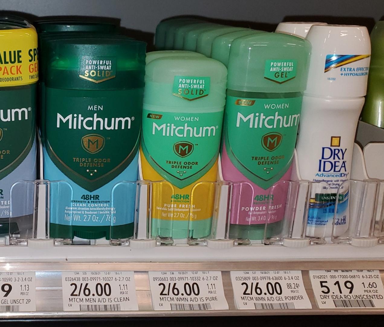 Mitchum Antiperspirant & Deodorant Just $2 At Publix on I Heart Publix 1