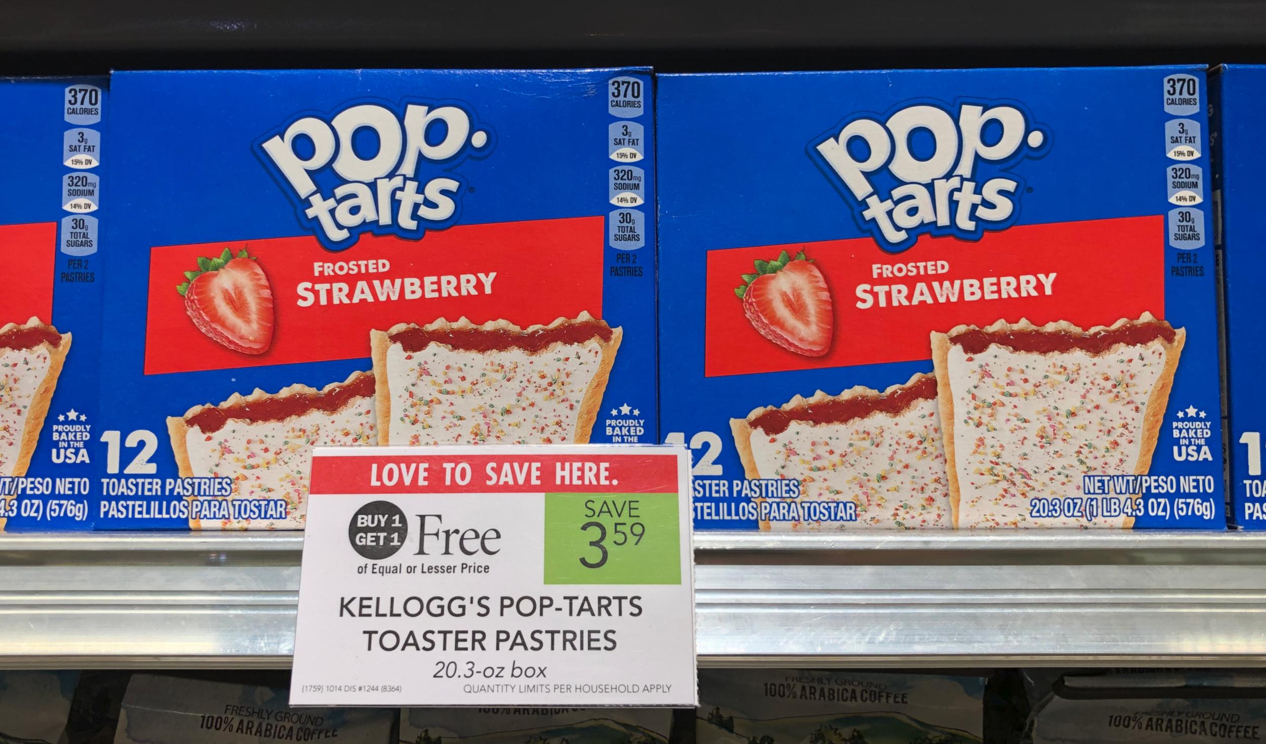 Kellogg's Pop-Tarts Only $1.30 Per Box At Publix on I Heart Publix